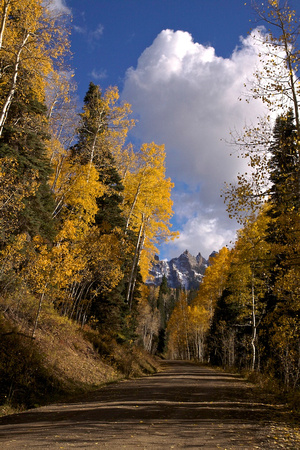 Fall Riot Owl Creek Pass, CO