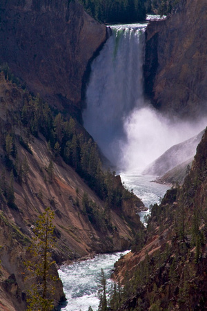 Yellowstone Lower Falls Artist Point