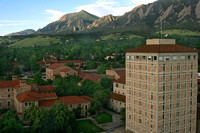 Duane Physics Tower 1 CU Boulder