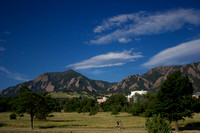 Early Morning South Boulder Commute