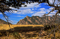 Boulder Flatirons Mountain Parks Open Space