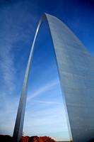 St. Louis Arch Up and Over