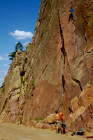 Rock Climbers, Eldorado Canyon State Park, CO